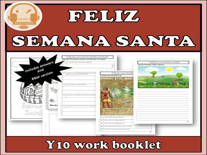 Semana Santa Easter Spanish Y10