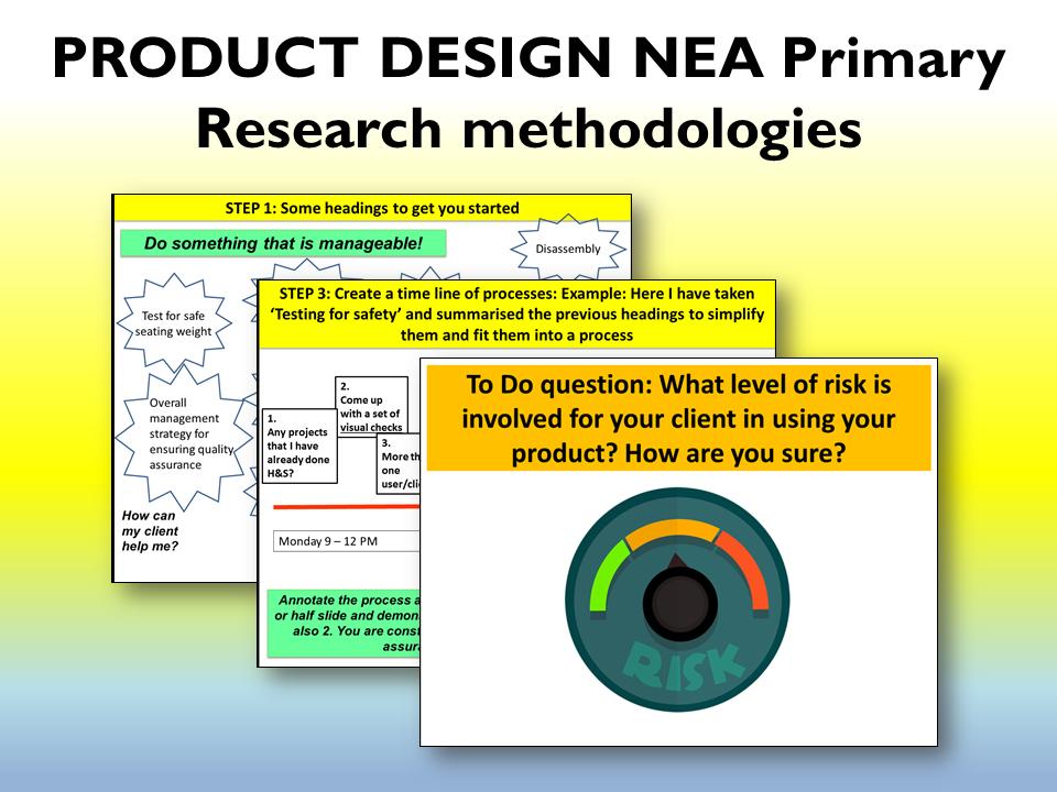 2021 AQA NEA Product Design Primary research