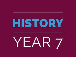 Year 7 History Bundle