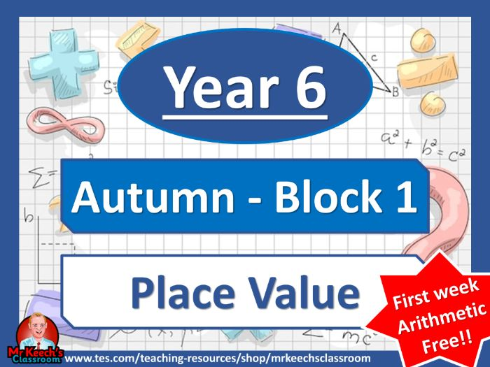 Year 6 - Place Value - Autumn Block 1 - White Rose Maths