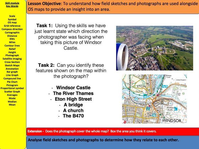 17 Lessons - Geographical Skills - AQA GCSE