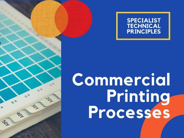 Commercial printing processes - PPT GCSE DT