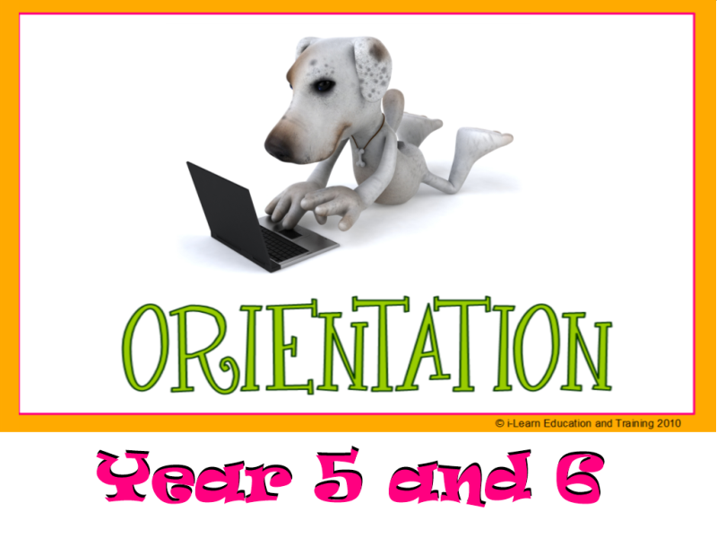 Narrative Writing - Orientation - Year 5+6