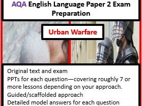 AQA GCSE English Language Paper 2 Exam Paper and Preparation