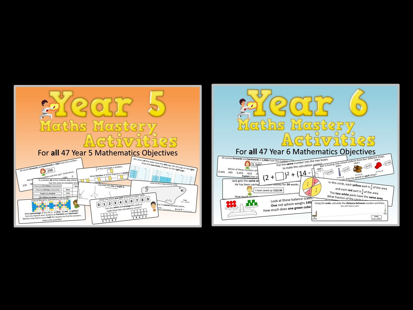 Year 5 AND Year 6 Maths Mastery Pack