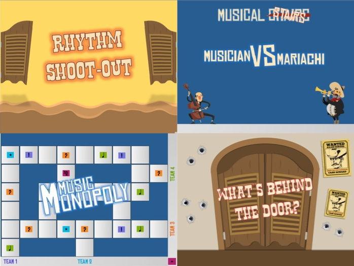 4 Music Games