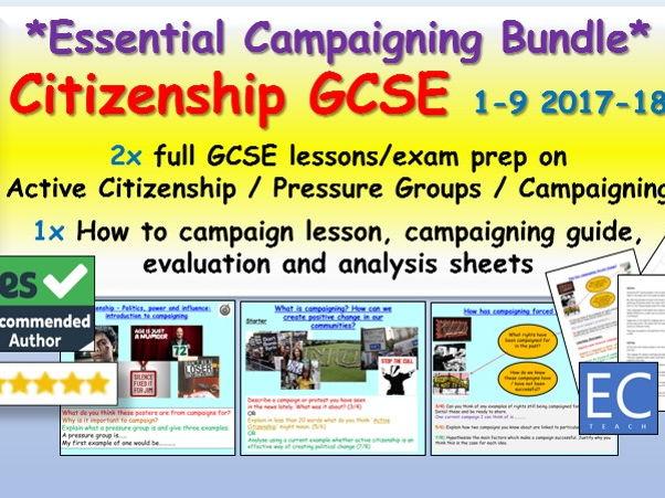 Citizenship GCSE Campaigning