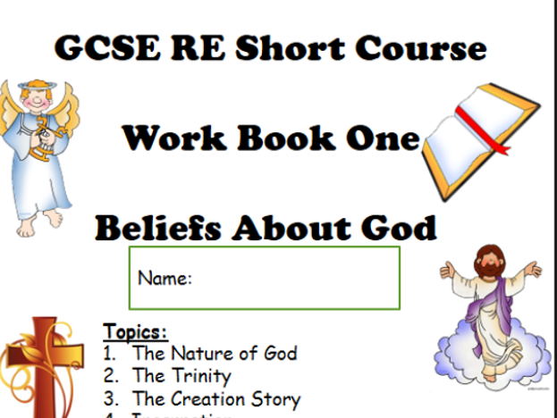 Low Ability Workbook Christian Beliefs GCSE RE
