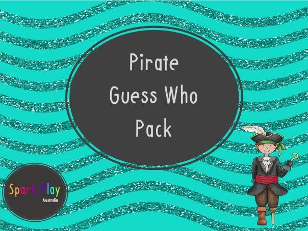 Pirate Guess Who Pack