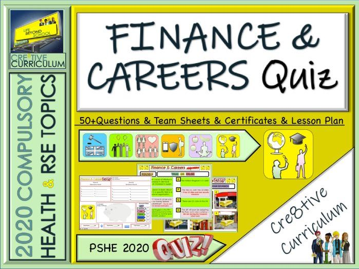 Finance and Careers Quiz