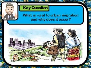 Rural to urban migration,