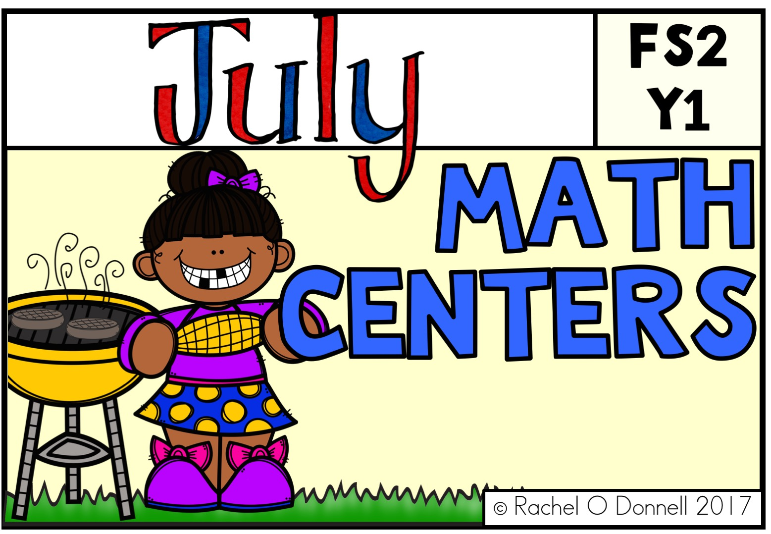 July Maths Centers FS2 Year 1