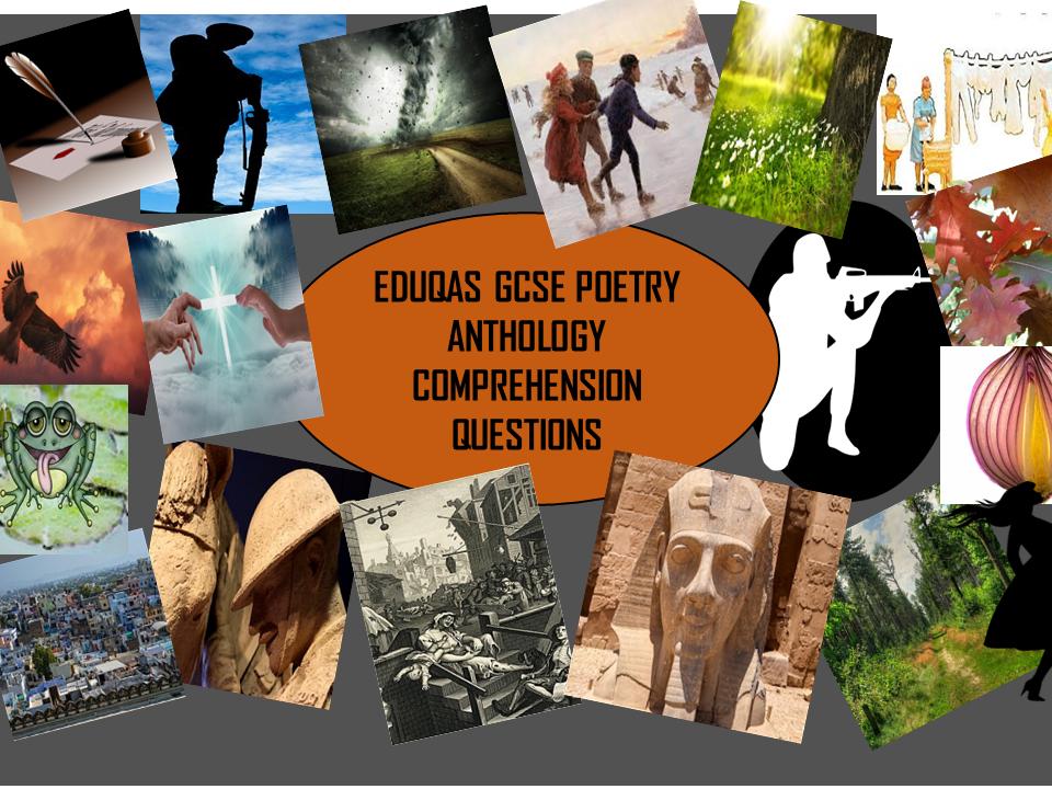 Eduqas GCSE Poetry Anthology Comprehension Questions