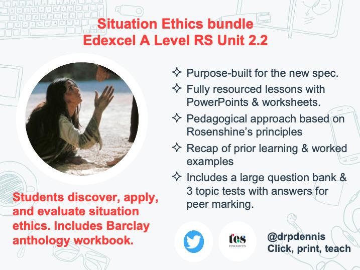 Situation Ethics Bundle (Edexcel New Spec)