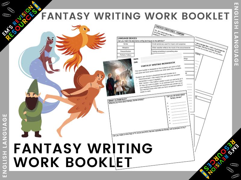 ENG | Fantasy Writing Work Booklet