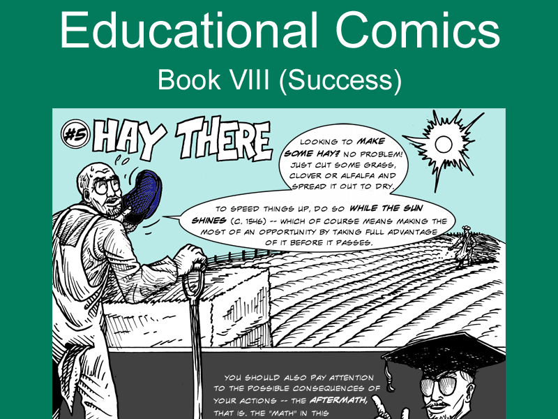 Educational Comics: Hay There
