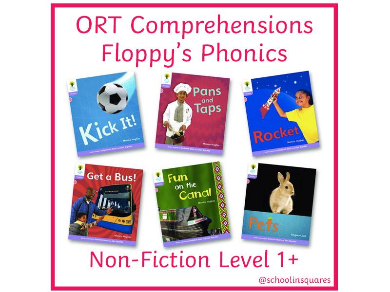 ORT 1+ Comprehension Bundle - Floppy's Phonics - Non-Fiction