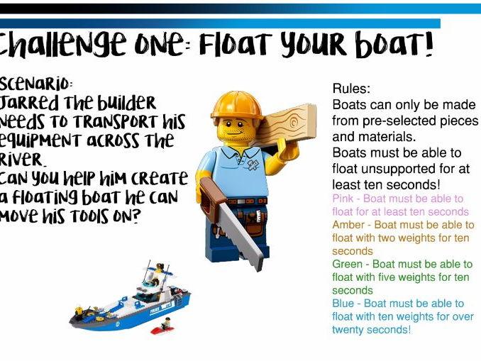 Maker Space/Innovation Lab Challenge Cards Pack 2