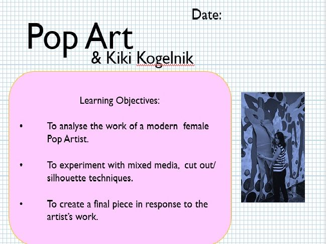 Pop Art- Kiki Kogelnik