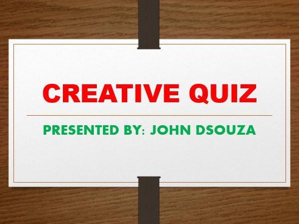 CREATIVE QUIZ: RARE FACTS