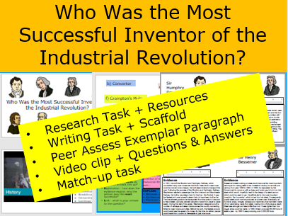 *FULL LESSON* Who Was the Most Successful Inventor of the Industrial Revolution?