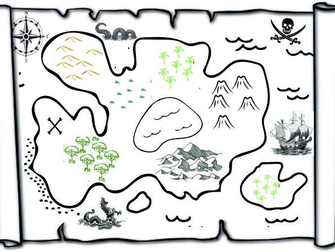 Pirate Story Making Map