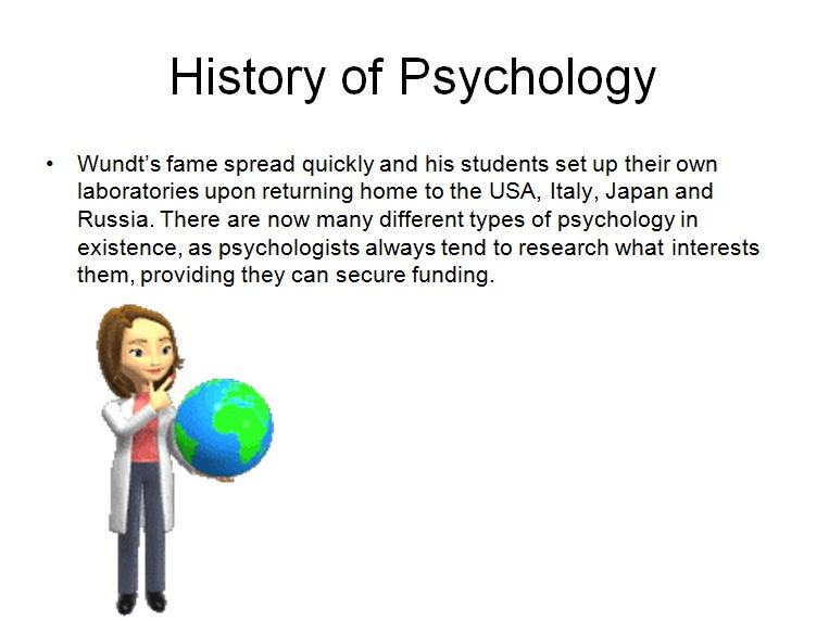 History of Psych and Heroes of Psych