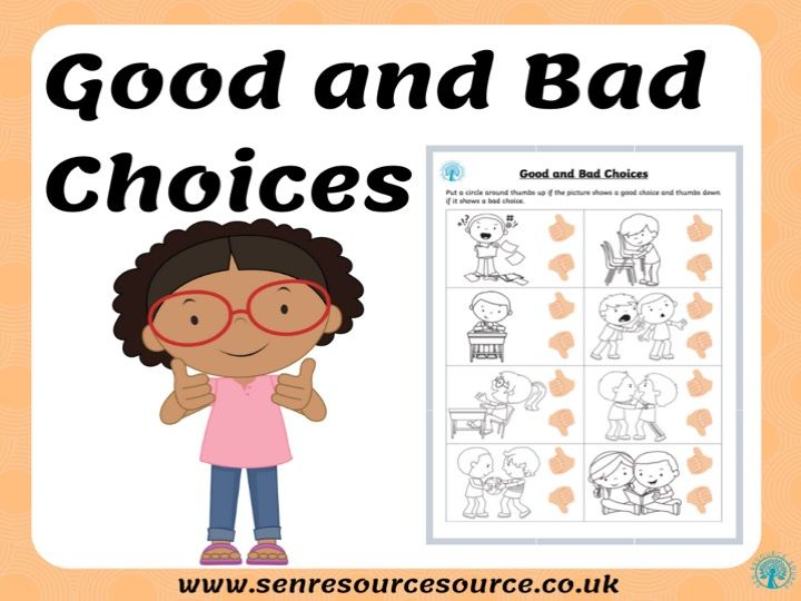 Good and Bad Choices Version 2