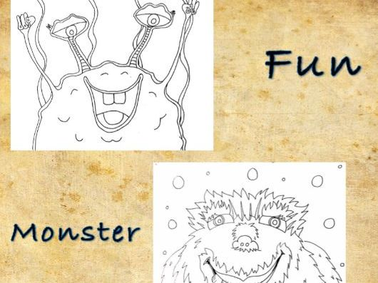 Moster Color Sheet 3 pack