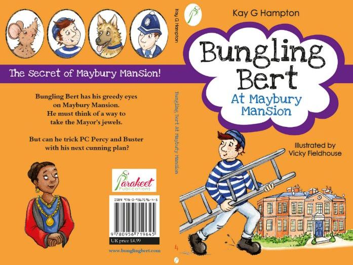 Bungling Bert Mansion Book Cover Design