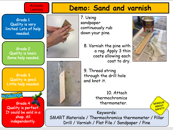 DT KS3 Thermometer 6week Fully Resources Project