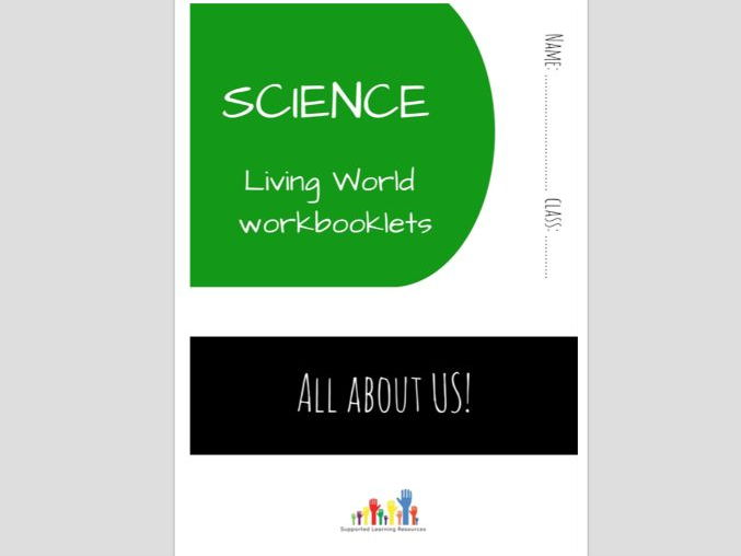 SPECIAL EDUCATION (SCIENCE) - REPRODUCTION, CYCLES, FERTILISATION science workbooklet