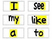 Phase 2 hf words set 1-4
