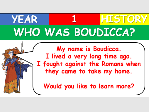 KS1 History - Who was Boudicca?