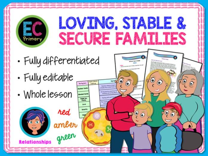 Families - love and stability