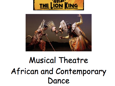 Y7 The Lion King