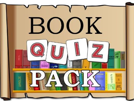Book Quiz Pack – story, back to school, world book week / day, primary