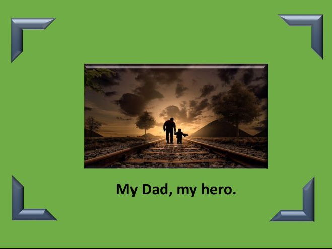 Father's Day three poems and spelling activity