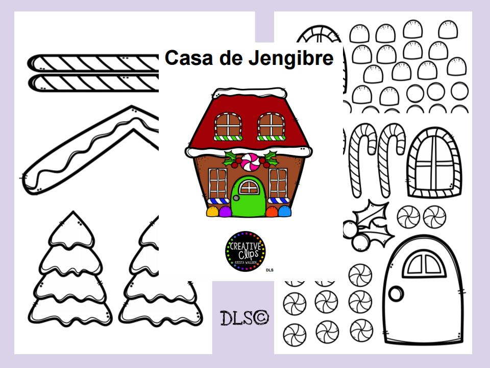 Build a Gingerbread House / Construye una casa Jengibre