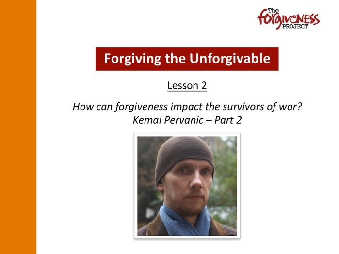 Forgiving the Unforgivable PPT