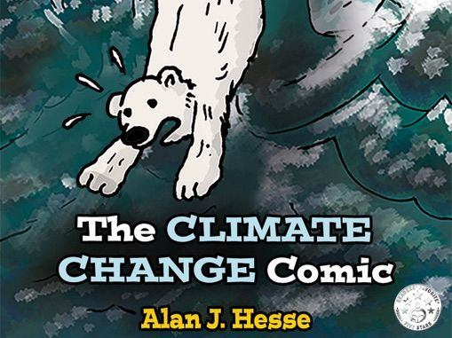 Climate change education in a comic book: Book 1 of the series