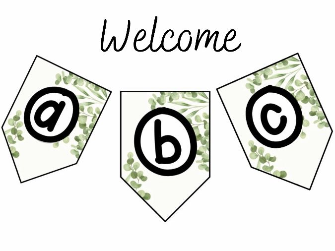 Green Honesty Welcome Banner