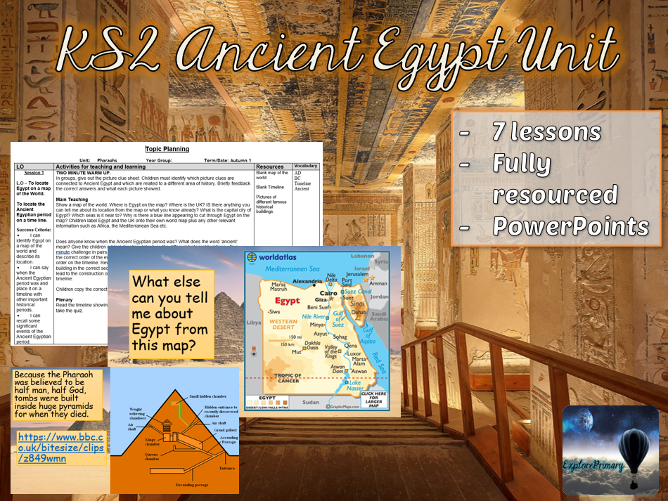 KS2 Ancient Egypt Unit