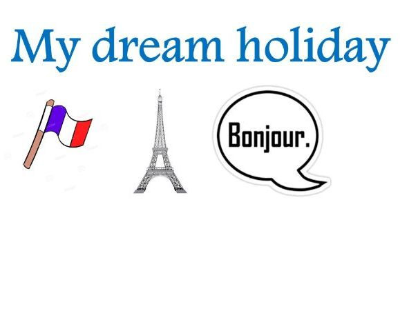 My dream holiday reading booklet