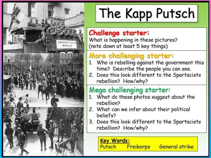 The Kapp Putsch