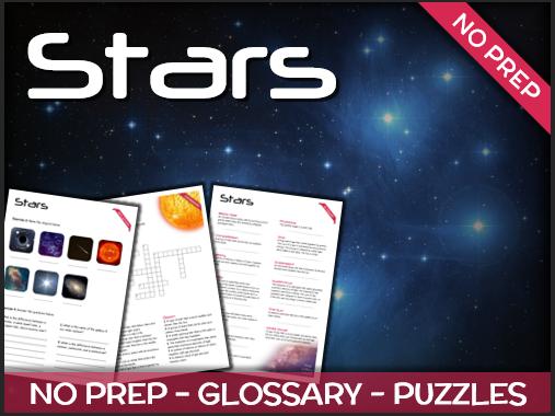 Stars - Puzzles & Glossary
