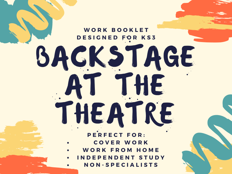 Theatre Backstage Booklet