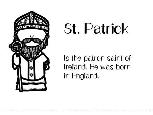 All About Saint Patrick!