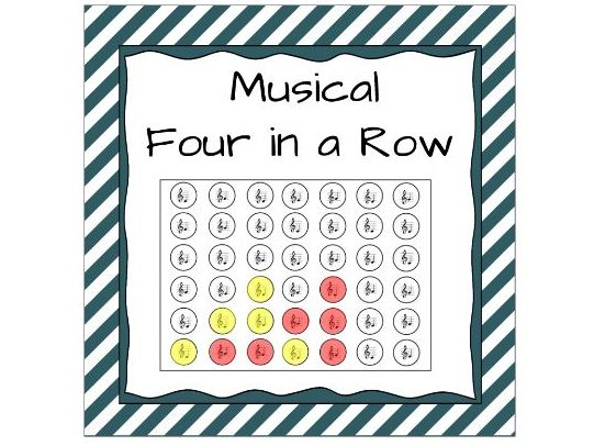 Musical Four in a Row