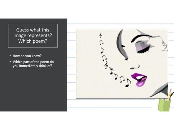 Poetry Revision Quiz CIE 0475